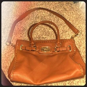 Tan Michael Kors Satchel Purse - MAKE ME AN OFFER